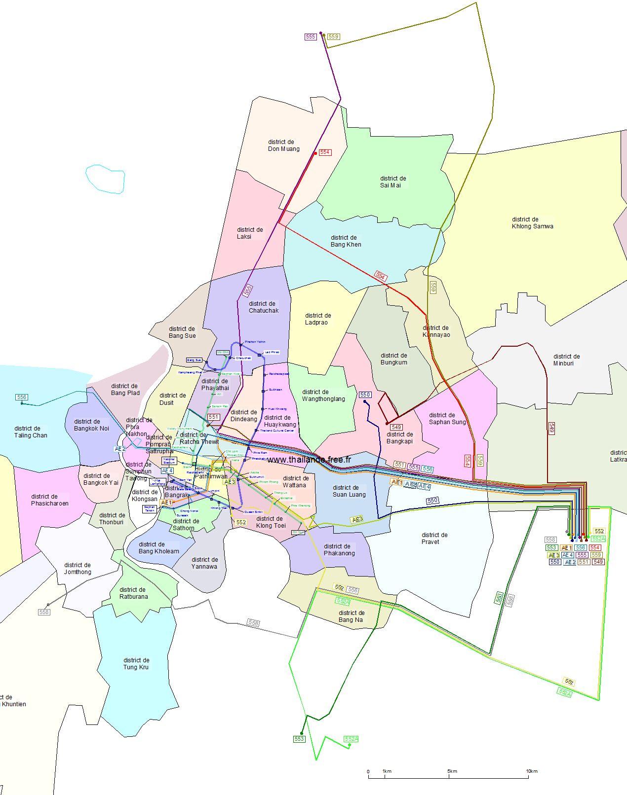 Carte Thailande Imprimer.Cartes De Thailande Villes Et Regions Cartes Routieres
